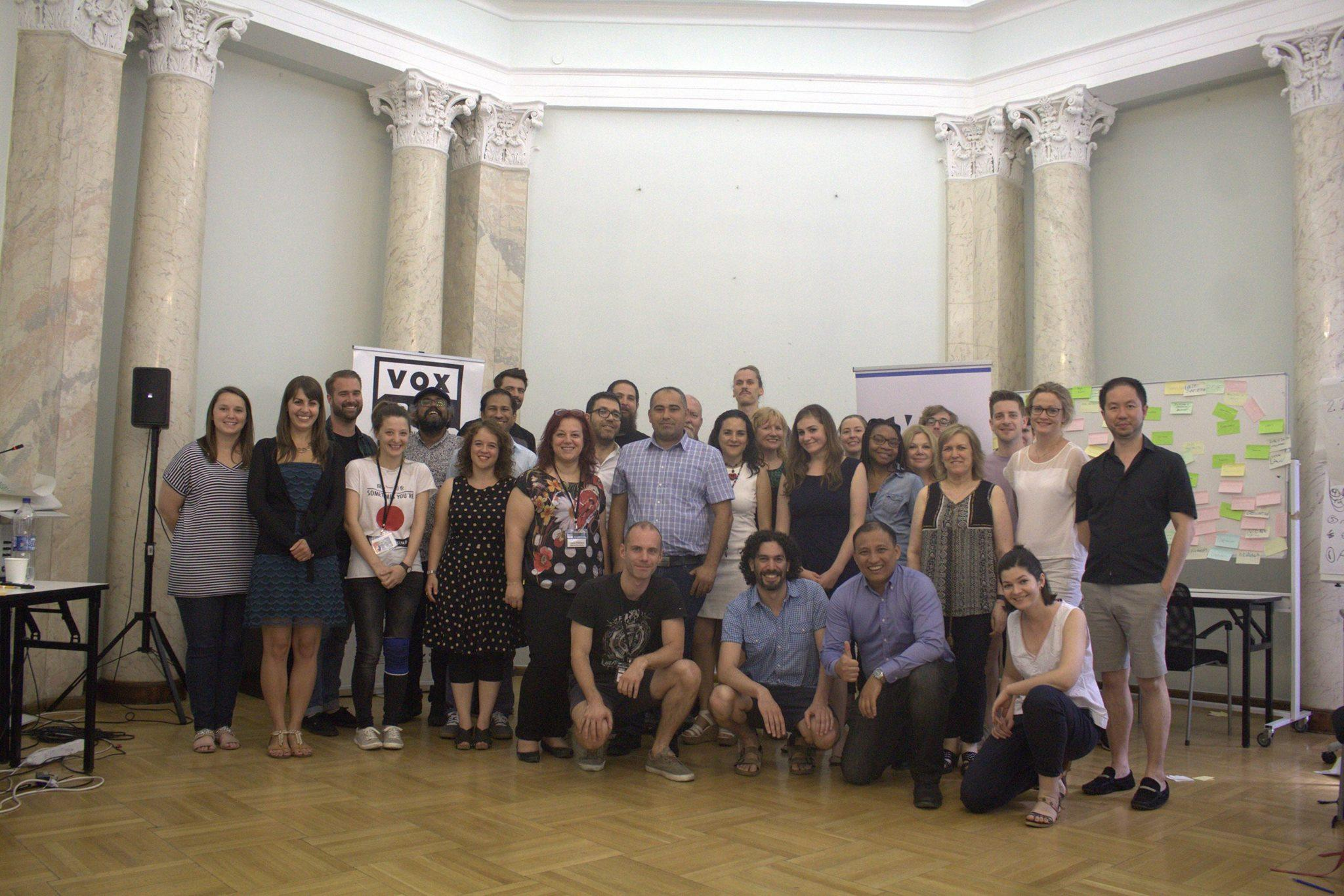 CMDS VOX-Pol summer course